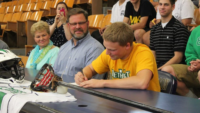 Roberson's Devin Case has signed to play college lacrosse for Methodist (S.C.).