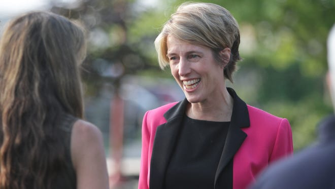 Zephyr Teachout in Ossining in August.