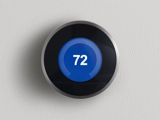 Nest thermostats use the WiFi signal in your home to communicate with your smartphone