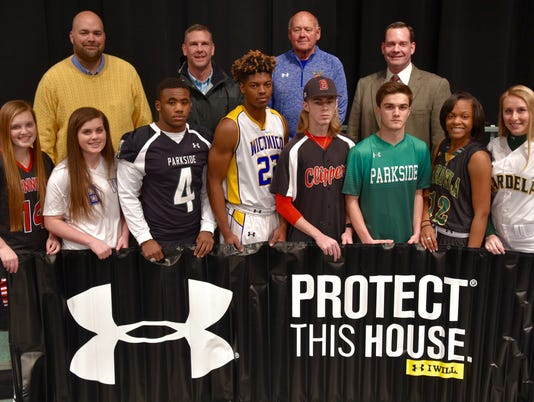 Wicomico schools sign Under Armour contract