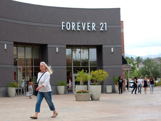 Forever 21 opened at The River in Rancho Mirage in 2012 in the anchor spot once held by Borders bookstore. The shopping center, considered Rancho Mirage's downtown, has struggled in recent years, especially with the departure of Borders. The center's new owner, CheerLand Investment Group, is working to revive the center — a task taking longer than they had expected.