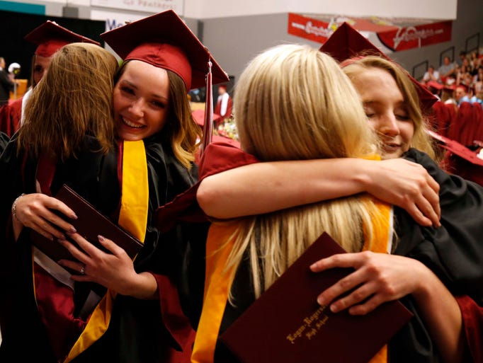Images from the Logan-Rogersville High School graduation