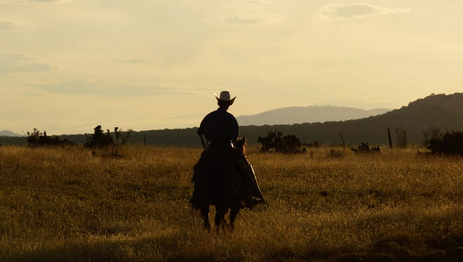 A cowboy rides into memories still waiting to be made.