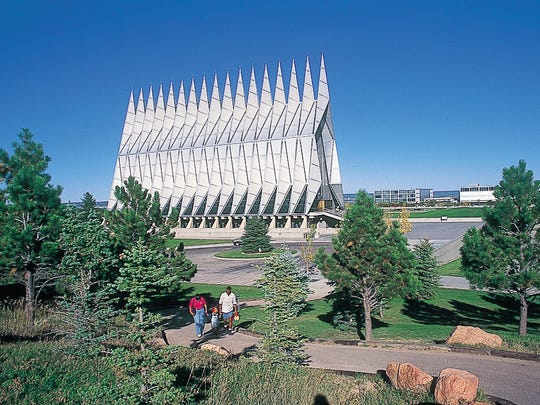 The Air Force Academy's cadet chapel in Colorado Springs, Colo., is set for a big renovation.