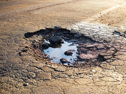 Road Damage - Pot Hole