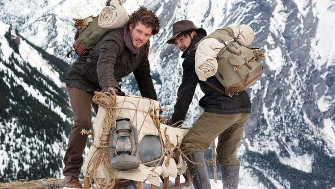 Richard Madden, left, and Augustus Prew hitch their wagon to Discovery Channel's 'Klondike.'