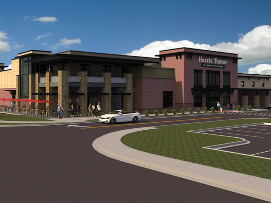 The new Harris Teeter would be similar to the one being built at Lewis Plaza on Augusta Road.
