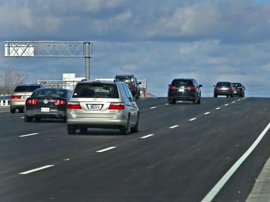 IndyStar stock road stock interstate stock traffic