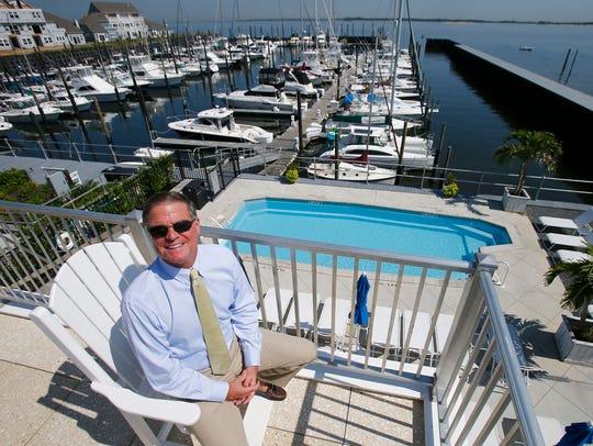 James Bollerman, the developer of Sandy Hook Bay Marina,