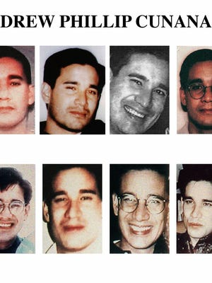 Andrew Phillip Cunanan in undated photos, some of which appeared on the FBI 10 Most Wanted List, in 1997.