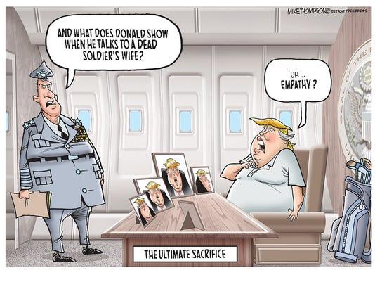 Trump's insensitive condolences
