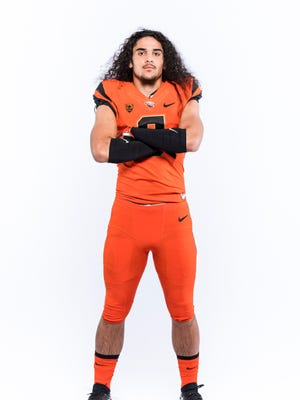 Outside linebacker Matthew Tago is the only four-star recruit in Oregon State's 2018 recruiting class.