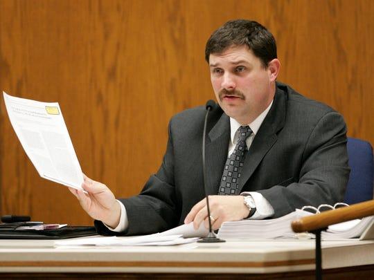 Marc LeBeau, head of the FBI's chemistry analysis section,