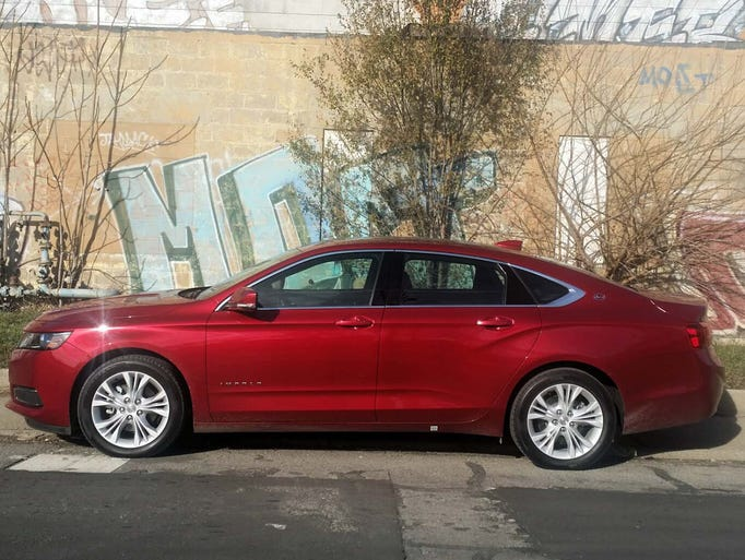 The new Impala's Extreme Makeover styling gives it