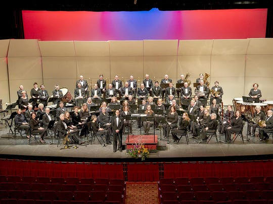 UW-Manitowoc's Lakeshore Wind Ensemble symphonic band will perform at Two Rivers' Central Park on Sunday.