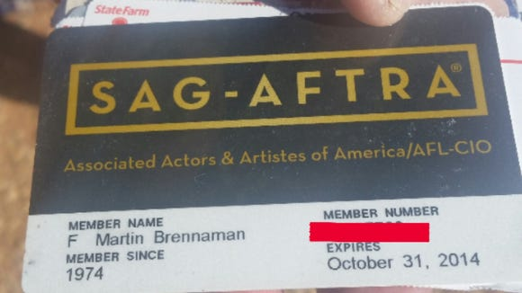 Reds broadcaster Marty Brennaman is a member of SAG-AFTRA and votes in the SAG Awards every year.