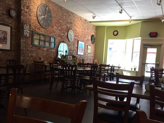 A peek inside The Timeless Cafe, with its cozy atmosphere in downtown Lebanon across from the farmers market on South 8th Street.