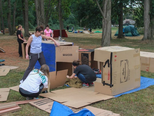 Homeless for a night: Lessons from Cardboard Box City