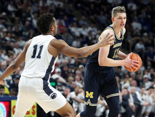 NCAA Basketball: Michigan at Penn State