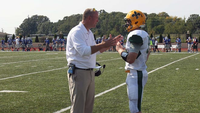 Dan McCarty will make his debut as the head coach of the St. Norbert College football team Saturday. McCarty was the team's defensive coordinator last year.