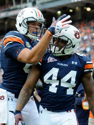 Cameron Artis-Payne is competing for Auburn's starting running back job.