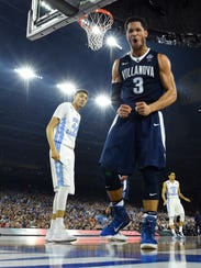 Villanova guard Josh Hart  led the Wildcats in scoring