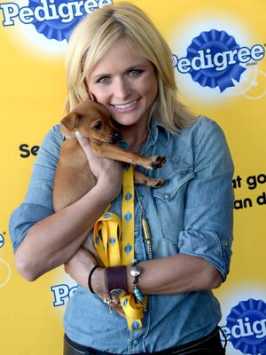 Country singer Miranda Lambert, a noted animal lover who tours with some of her pets, will collect donations for Happily Ever After Animal Sanctuary at her concert March 2 at the Resch Center.