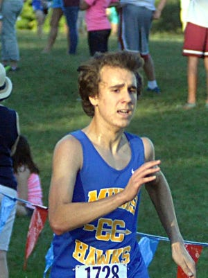 Merrol Hyde Magnet junior Richard Max Wagner finished  14th in the Region 4 A-AA Meet, helping the Hawks qualify for the state meet.