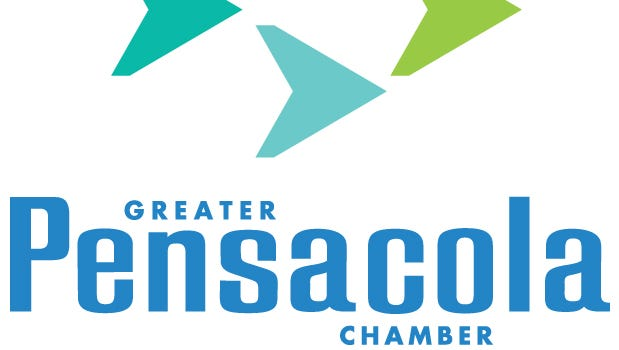 Greater Pensacola Chamber of Commerce logo.