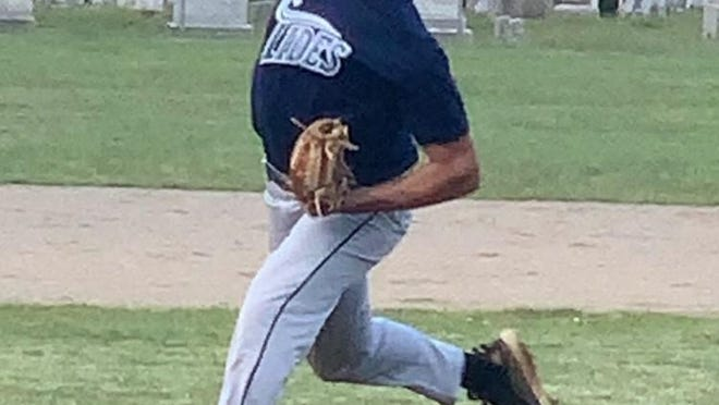 Exeter's Ethan Imbimbo is part of a talented and deep pitching staff for the first-year Northeast Tides.