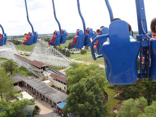 Altoona S Adventureland Amusement Park Opens For 2018 Season