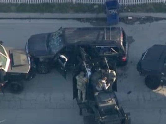 the shooters' vehicle san bernardino terrorism