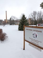 The Wisconsin Veterans Home in King, Wisconsin, pictured in January 2013.
