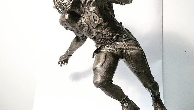 The University of  Alabama unveiled the statue this week.