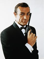 "Sean Connery is James Bond in the 1963 film ""From Russia"