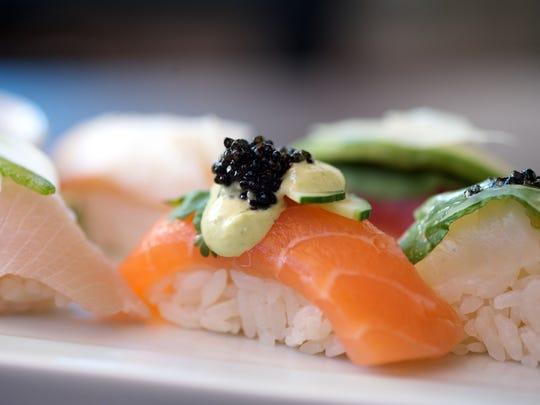 Nigiri from Sushi Roku in Scottsdale.