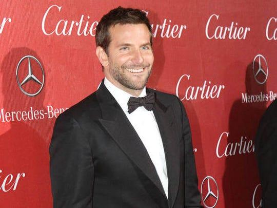 Bradley Cooper on the red carpet for the 2014 Palm Springs International Film Festival, Saturday, January 4, 2014.  Jay Calderon/The Desert Sun