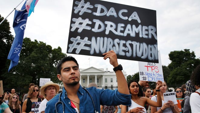 The federal government will accept some DACA-renewal applications that arrived past the deadline because of postal issues.