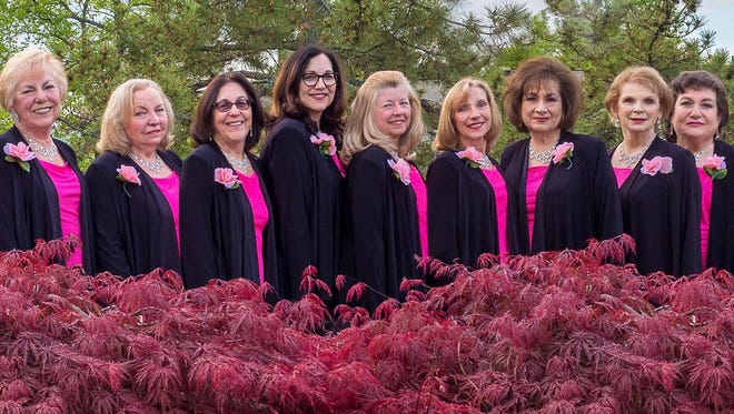 The Notables Singers are a group of women from Morris County who love to sing.