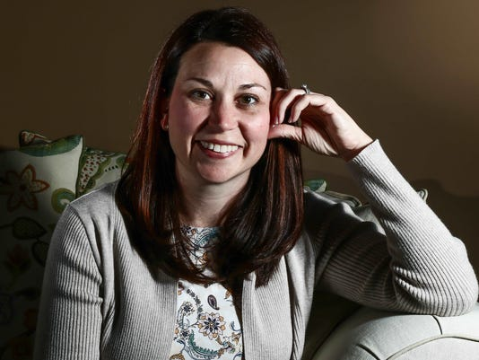 Michelle Wall, a Delaware resident recently named National Mother of the Year