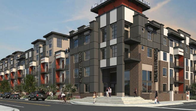 Alta Chandler will bring 301 high-density, multifamily apartments to the southeastern corner of Frye Road and Washington Street in downtown Chandler.