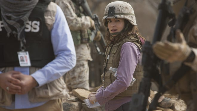 Tina Fey plays a war correspondent in 'Whiskey Tango Foxtrot.'