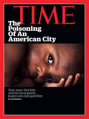 TIME magazine cover, February 2016 issue.