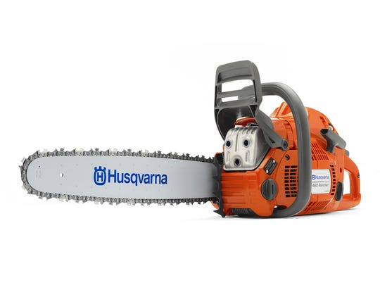 The Husqvarna 60.3-cc, 24-inch gas chainsaw sells for $499 at Lowe's.