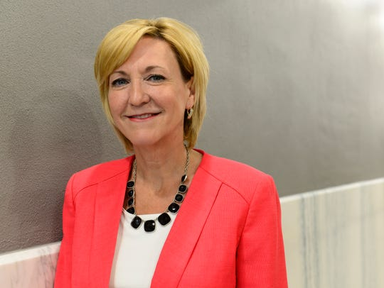 Democratic lieutenant governor candidate Betty Sutton,