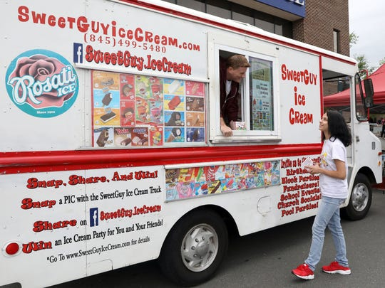 Sweet Guy Ice Cream owner John Monahan of New City