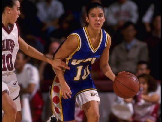 Erica Gomez, shown playing for UCLA, led St. John Vianney