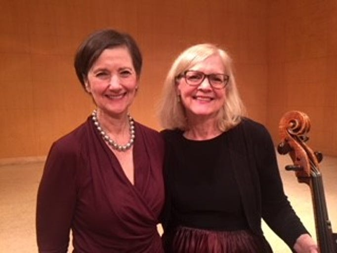 Pictured: (left to right) Paula Hickman and Ruth Drummond