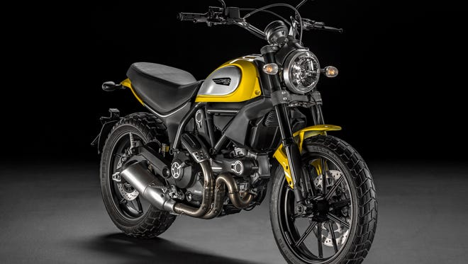 Italian motorcycle manufacturer Ducati unveiled Tuesday its new Scrambler motorcycle, which recalls its first motorcycle built for the U.S. market in 1962. It has been promoting the new line with teaser glimpses on social media since June.