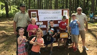 The Winn Ranger District held its 15th youth fishing derby June 3.